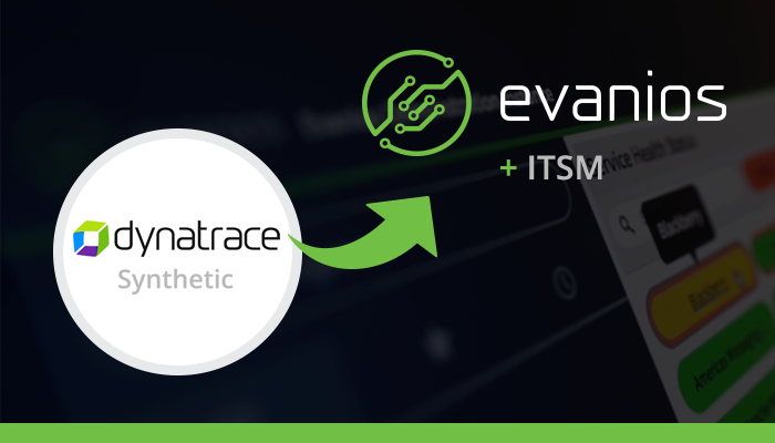 Dynatrace Synthetic Monitoring ServiceNow Integration